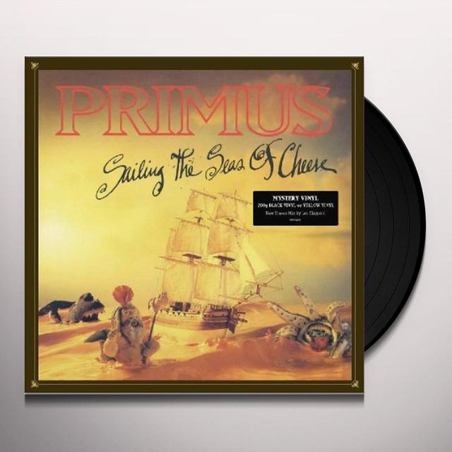Primus SAILING THE SEAS OF CHEESE Vinyl Record
