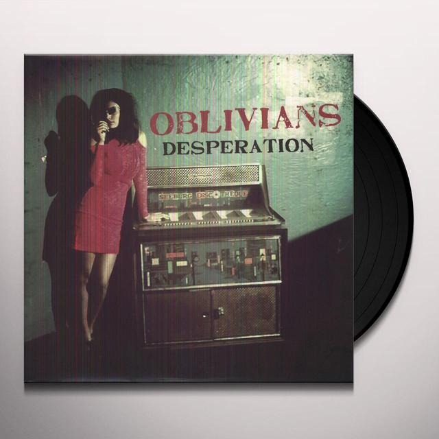 Oblivians DESPERATION Vinyl Record