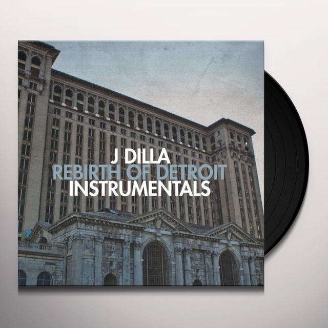 J Dilla REBIRTH OF DETROIT Vinyl Record