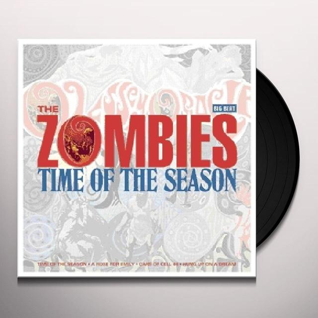The Zombies TIME OF THE SEASON Vinyl Record - UK Import