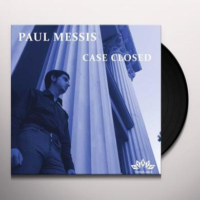 Paul Messis CASE CLOSED Vinyl Record - Limited Edition, 180 Gram Pressing