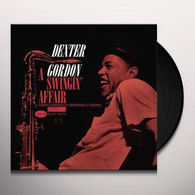 Dexter Gordon SWINGIN AFFAIR Vinyl Record - 180 Gram Pressing