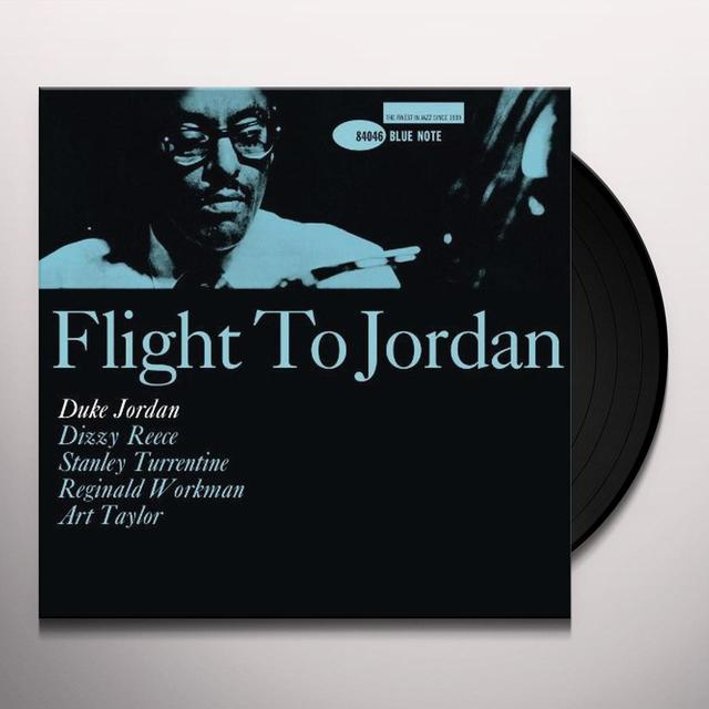 Duke Jordan FLIGHT TO JORDAN Vinyl Record - 180 Gram Pressing