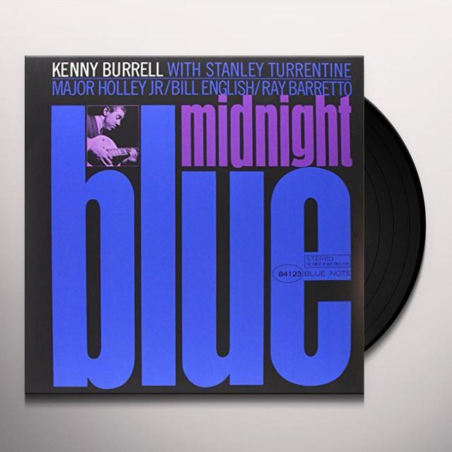 Kenny Burrell MIDNIGHT BLUE Vinyl Record - 180 Gram Pressing
