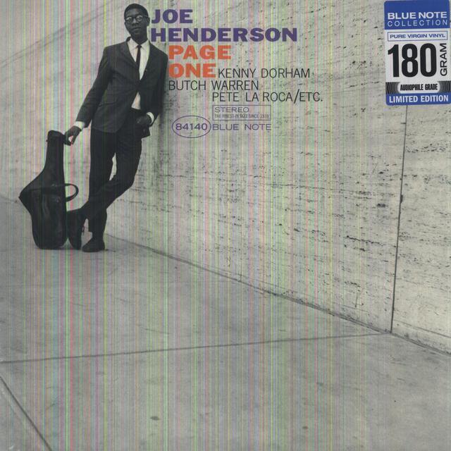 Joe Henderson PAGE ONE Vinyl Record - 180 Gram Pressing
