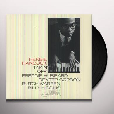 Herbie Hancock TAKIN OFF Vinyl Record - 180 Gram Pressing