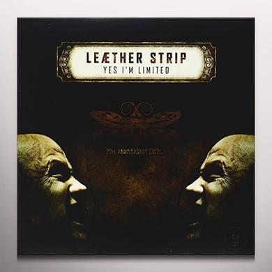 Leaether Strip YES I'M LIMITED (BONUS CD) (BONUS TRACKS) Vinyl Record - Colored Vinyl