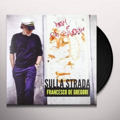 Francesco De Gregori SULLA STRADA Vinyl Record - Italy Import