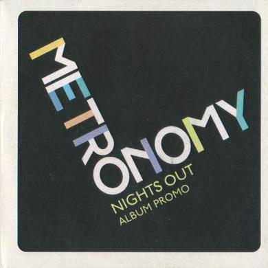 Metronomy NIGHTS OUT Vinyl Record