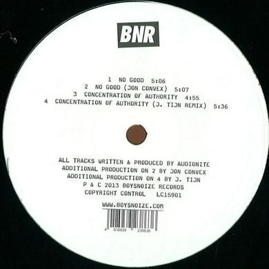 Audionite NO GOOD Vinyl Record