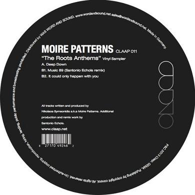 Moire Patterns ROOTS ANTHEMS SAMPLER PACK Vinyl Record