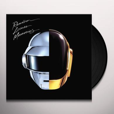 Daft Punk RANDOM ACCESS MEMORIES Vinyl Record - 180 Gram Pressing, Digital Download Included