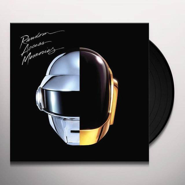 Daft Punk RANDOM ACCESS MEMORIES Vinyl Record - 180 Gram Pressing, Digital Download Included