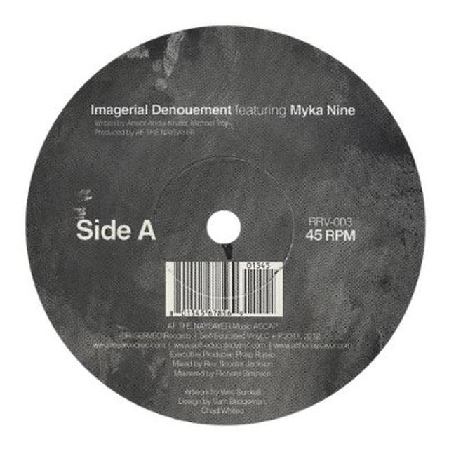 Af The Naysayer IMAGERIAL DENOUMENT Vinyl Record