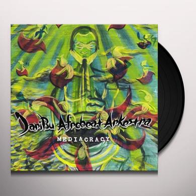 Jaribu Afrobeat Arkestra MEDIACRACY Vinyl Record - Limited Edition