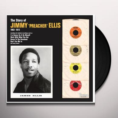 Jimmy Ellis STORY OF JIMMY PREACHER ELLIS Vinyl Record