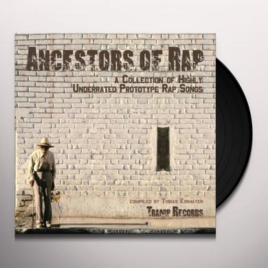 ANCESTORS OF RAP / VARIOUS Vinyl Record