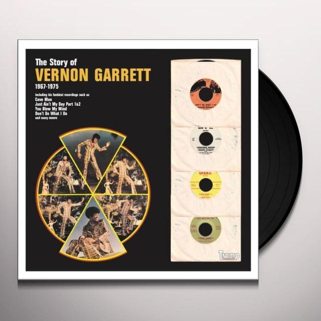 STORY OF VERNON GARRETT 1967-1975 Vinyl Record - Limited Edition