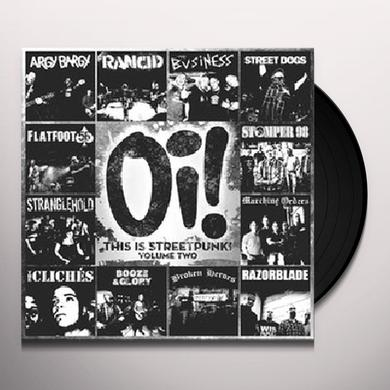 OI THIS IS STREETPUNK 2 / VARIOUS Vinyl Record