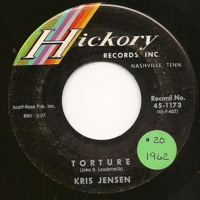 Kris Jensen TORTURE Vinyl Record