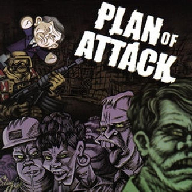 Plan Of Attack THEW WORKING DEAD Vinyl Record