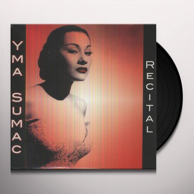 Yma Sumac RECITAL Vinyl Record - w/CD