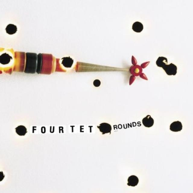 Four Tet ROUNDS (BONUS CD) Vinyl Record - 180 Gram Pressing, Reissue