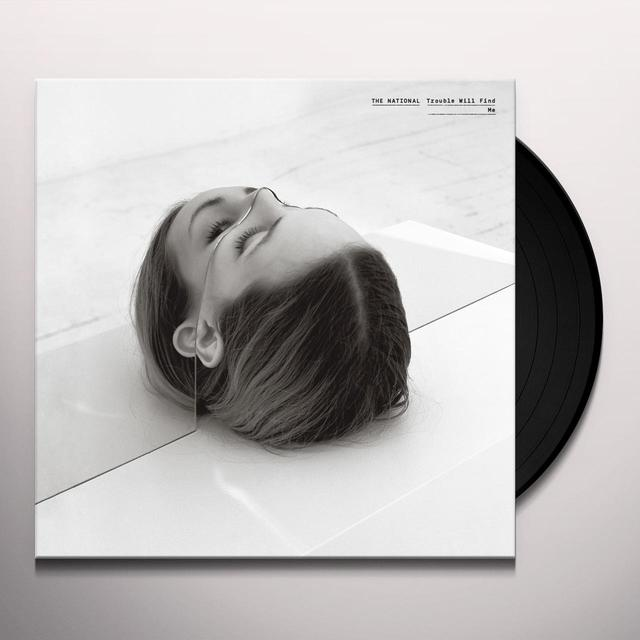 The National TROUBLE WILL FIND ME Vinyl Record - MP3 Download Included
