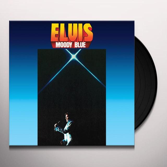 Elvis Presley MOODY BLUE Vinyl Record - Limited Edition, 180 Gram Pressing, Anniversary Edition