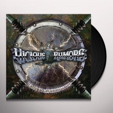 Vicious Rumors ELECTRIC PUNISHMENT Vinyl Record