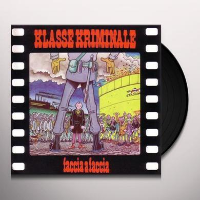 Klasse Kriminale FACCIA A FACCIA Vinyl Record