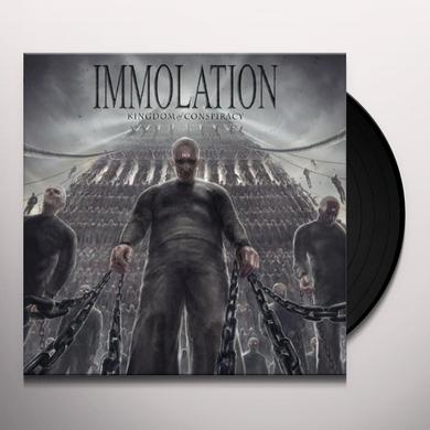 Immolation KINGDOM OF CONSPIRACY Vinyl Record