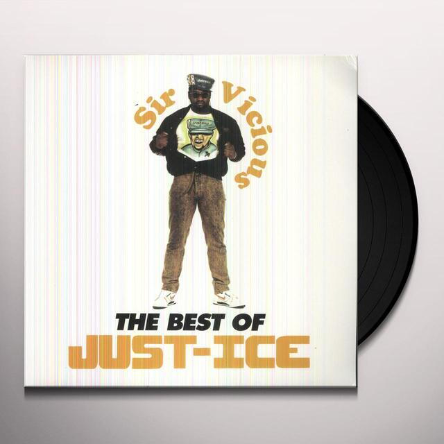 Just-Ice BEST OF Vinyl Record