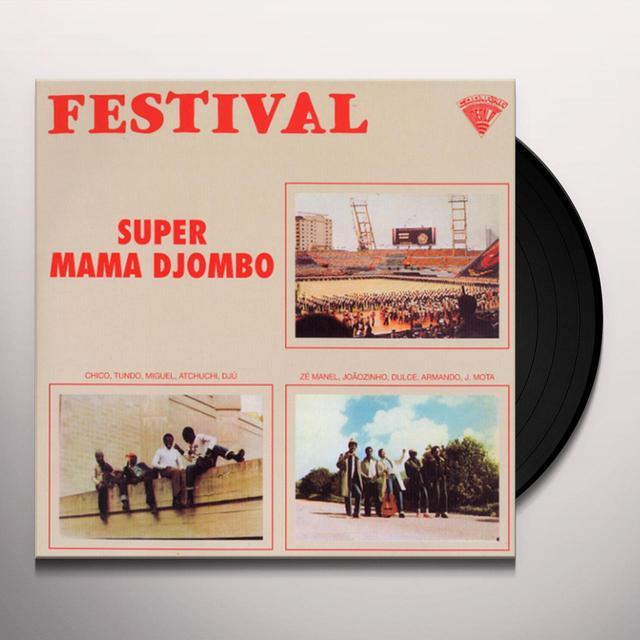 Super Mama Djombo FESTIVAL Vinyl Record - Deluxe Edition