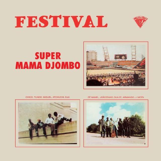Super Mama Djombo FESTIVAL Vinyl Record