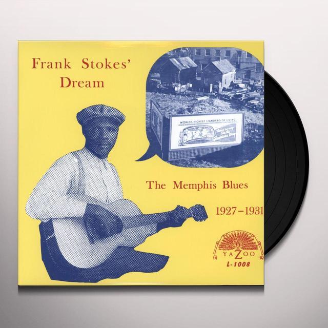 Frank Stokes' Dream MEMPHIS BLUES 1927 - 1931 Vinyl Record - 180 Gram Pressing