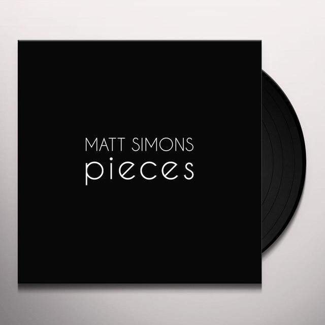 Matt Simons PIECES Vinyl Record