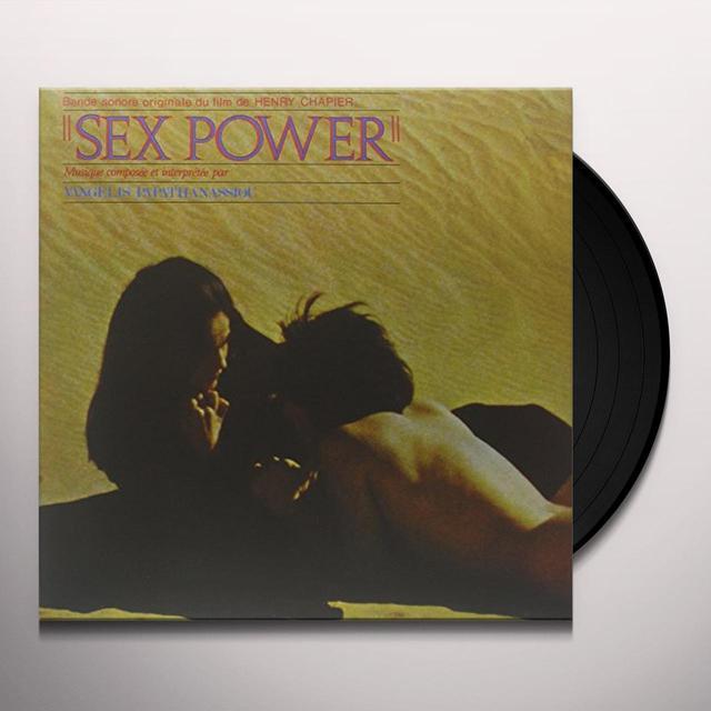 Vangelis SEX POWER Vinyl Record - 180 Gram Pressing