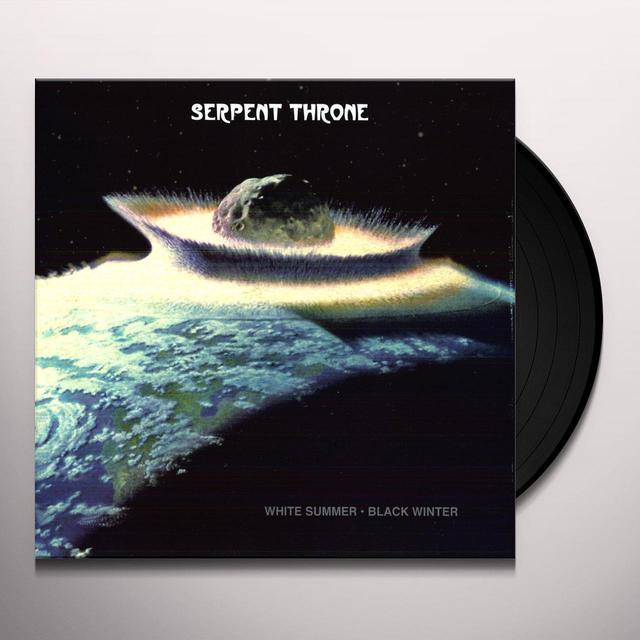 Serpent Throne WHITE SUMMER BLACK WINTER Vinyl Record