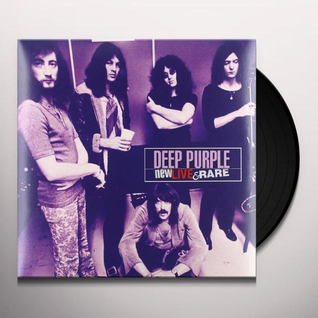 Deep Purple NEW LIVE & RARE: LIVE IN EUROPE 1969 - 1971 Vinyl Record