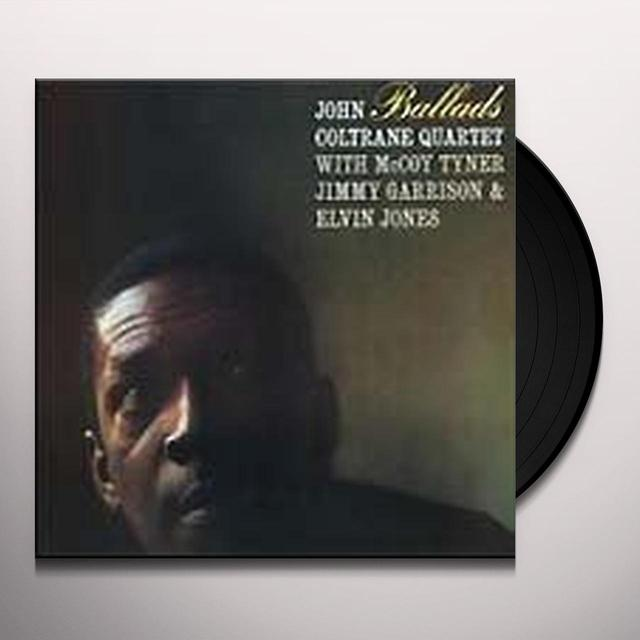 John Coltrane BALLADS Vinyl Record - Limited Edition, 180 Gram Pressing, Japan Release