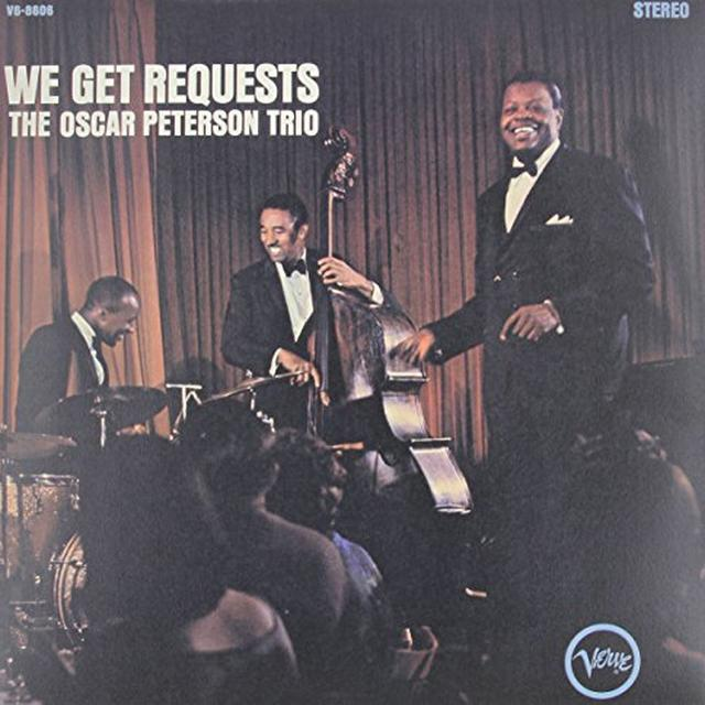 Oscar Peterson WE GET REQUESTS Vinyl Record - Japan Import, Limited Edition, 180 Gram Pressing