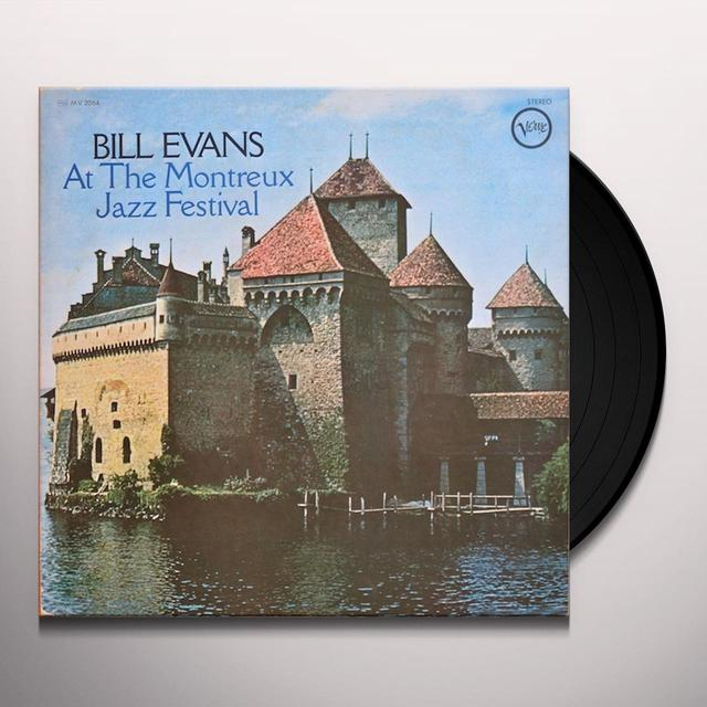 Bill Evans AT THE MONTREUX JAZZ FESTIVAL Vinyl Record - Limited Edition, 180 Gram Pressing, Japan Release