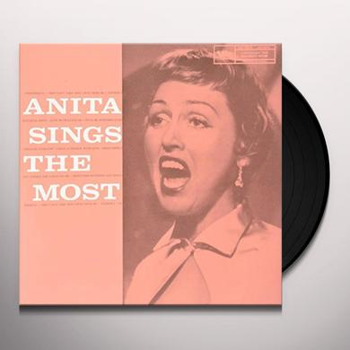 Anita O'Day ANITA SINGS THE MOST Vinyl Record - Limited Edition, 180 Gram Pressing, Japan Import