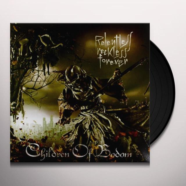 Children Of Bodom RELENTLESS RECKLESS FOREVER Vinyl Record - Portugal Release