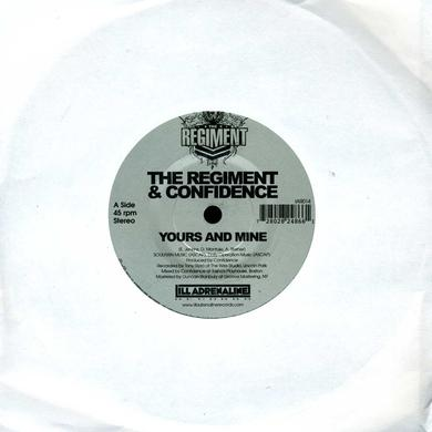 Regiment & Confidence YOURS & MINE / WE GON Vinyl Record