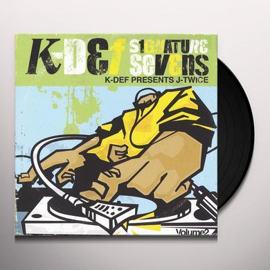 K-Def SIGNATURE SEVENS 2 Vinyl Record