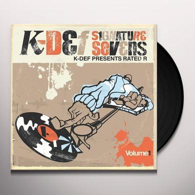 K-Def SIGNATURE SEVENS 1 Vinyl Record