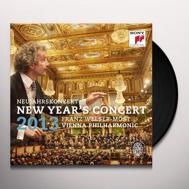 Welser-Most / Vienna Phil Orch NEW YEAR'S CONCERT 2013 Vinyl Record - Holland Release