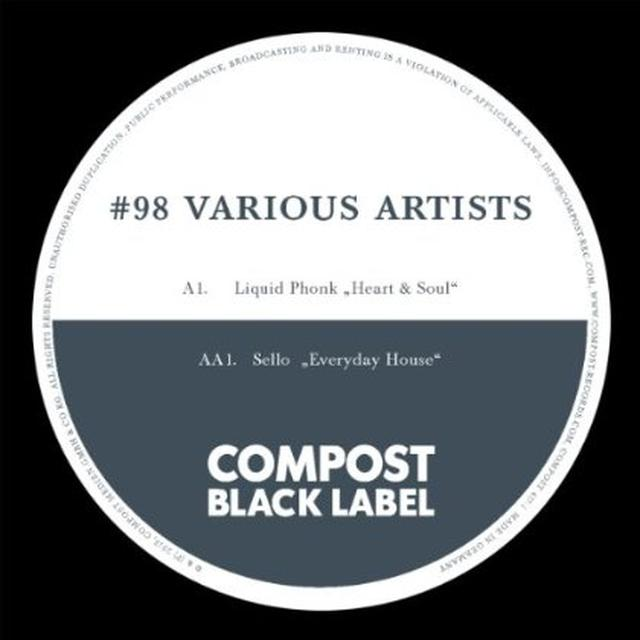 Liquid Phonk / Sello COMPOST BLACK LABEL 98 Vinyl Record